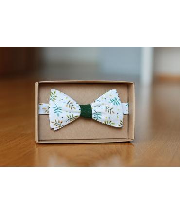Oboustranný motýlek kapradiny/zelený puntík
